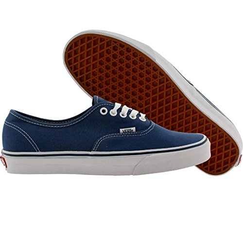 Vans U Authentic - Baskets Mode Mixte Adulte Bleu et blanc