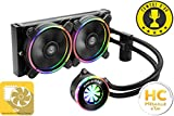 Enermax LiqFusion 240 (ELC-LF240-RGB) Sistema di Raffreddamento a Liquido All-in-One RGB per CPU con Radiatore da 240mm