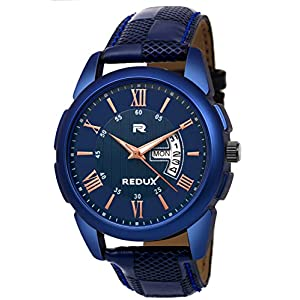 Redux RWS0216S Analog Blue Linear Designer Dial Men's & Boy's Watch