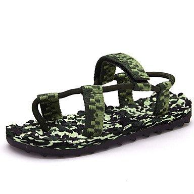 Los hombres sandalias Casual/playa/piscina sandalias de moda verde US11 / EU44 / UK10 / CN46