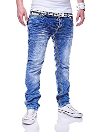 MT Styles Jeans Straight-Fit pantalon homme RJ-3213-1