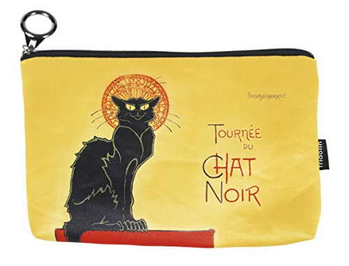 Fridolin Trousse de Toilette Chat Noir, 19 cm, Multicolore