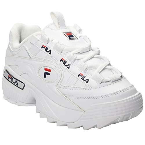 Fila Damen D-Formation Wmn 5Cm00514-125 Sneaker, Weiß (White), 39 EU -