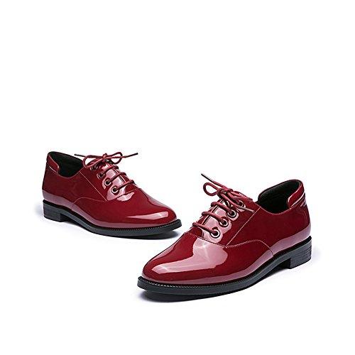 Strap chaussures/Casual chaussures à talon mid pour les femmes B