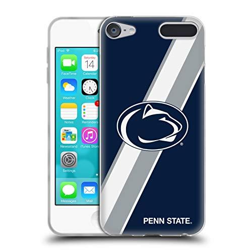 Head Case Designs Offizielle Pennsylvania State University PSU Streifen Soft Gel Huelle kompatibel mit Apple iPod Touch 6G 6th Gen State University Ipod Touch