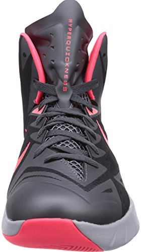 Nike  Nike Lunar Hyperquickness Basketballschuhe, Baskets homme Gris - Grau (BLCK/HYPR PNCH-DRK GRY-WLF GRY)