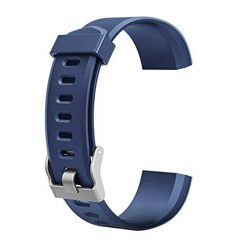 Demiawaking Armband Ersatz Zubehör für ID115Plus HR Smart Watch (Blau)