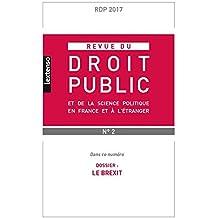 Revue du droit public, N° 2, février 2017 :