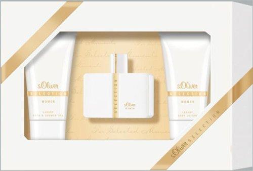 s.Oliver SELECTION WOMEN / DAMEN Geschenkset, Inhalt: Eau de Toilette Standard Spray Vaporisateur 30 ml + Luxury Bath/Shower Gel 75 ml + Luxury Bodylotion 75 ml