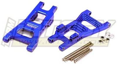 Integy RC Model Hop-ups T6758BLUE Alloy Rear Lower Arms for Nitro Rustler   Outlet