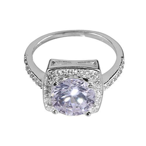 LOLIANNI Frauen personalisierte Metall voller diamanten Legierung Ring Damenmode microinlaid zirkon weibliche Dress up Ring schmuck Geschenk