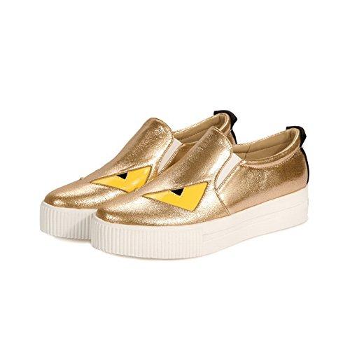 BalaMasa - Scarpe con plateau donna Gold
