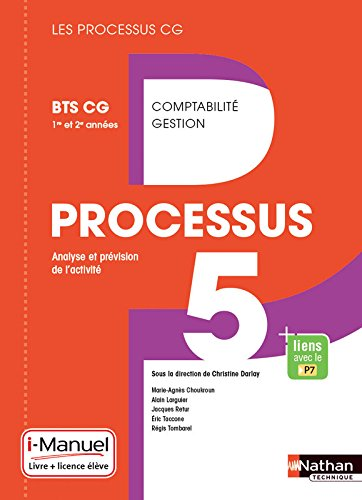 Processus 5 - BTS CG 1re et 2e années par Éric Taccone