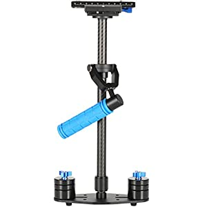 Morros 60 centimetri di Magic Carbon Fiber palmare fotocamera stabilizzatore Steadycam Video Rig Per DSLR DV Camera 6 spesavip