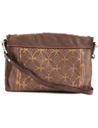 5ae9e3c5b Caterina Lucchi Taormina Print Crossbody Bag Mauve