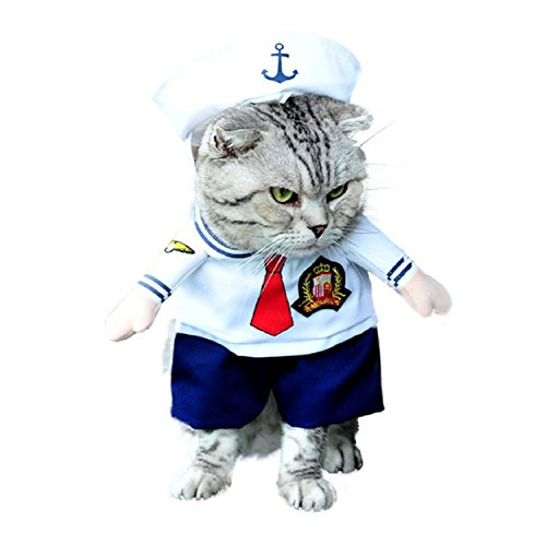 Inception Pro Infinite Costume - Marinaio - Marina - Gatto ( S )