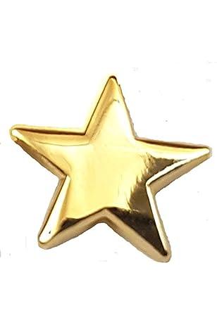 SET OF 12 GOLDSTAR PIN BADGE