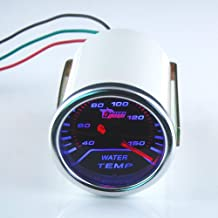 55mm THG Super Bright LED Universal Fit Autom¨®vil Racing ahumado Digital Water Temp Gauge Temperatura Por metro del coche de motor de autom¨®vil SUV Camiones
