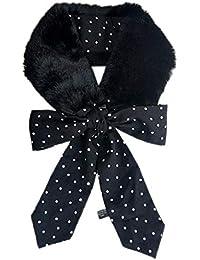 30145d80ed89 Longsw Nouvelle Version Coréenne Du Foulard En Fausse Fourrure Avec Col En  Fourrure Imprimée Léopard,