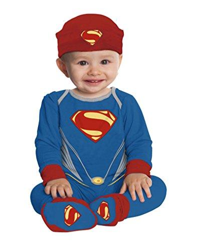 Strampelanzug für Babys One Size (Superman Strampelanzug Kostüm)