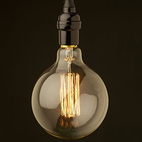 Kingso 1 bombilla incandescente Edison, 40 W, rosca E27, 220 V, diseñ