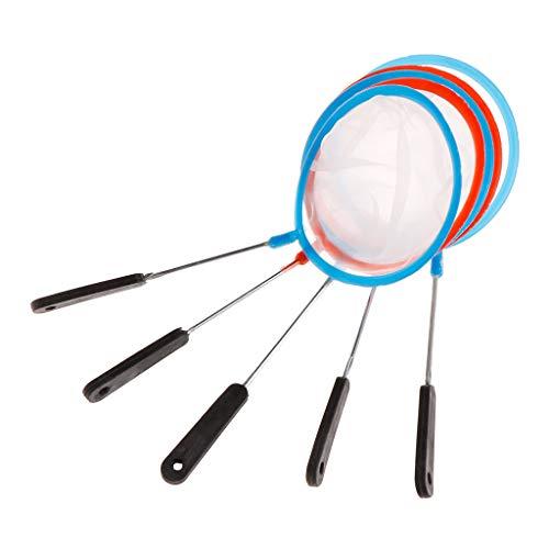 Xuniu 5 Stücke Aquarium Net, Aquarium Garnelen Mesh High Density Filter Artemia Werkzeuge Reinigungszubehör