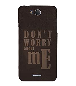 EPICCASE fashion quote Mobile Back Case Cover For InFocus M530 (Designer Case)