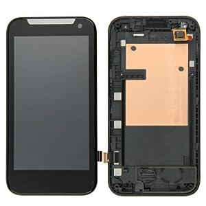 HTC Desire 310Ersatzdisplay Komplettset (Glas + Touchscreen + LCD) schwarz