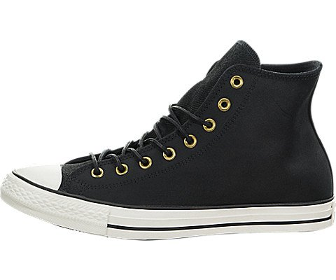 153808C|Converse CT All Star Leather Hi Black