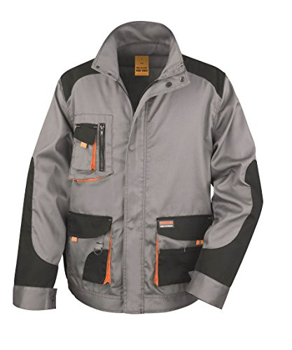 Result - Veste Lite Grey / Black / Orange