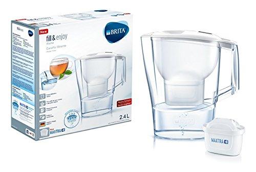 Brita Aluna White Wasserfilter mit Maxtra +, weiß (Kühlschrank De Filtro)