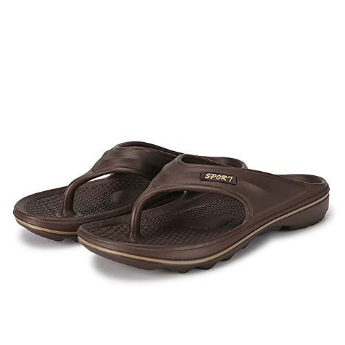 Zuyau ciabatte da spiaggia Uomo Infradito Men Sneakers Outdoor Sandalen Sommer Rutschfeste Slipper Flip-Flops Strandschuhe für männliche Erwachsene 11 (Erwachsene Elf Schlafanzug)
