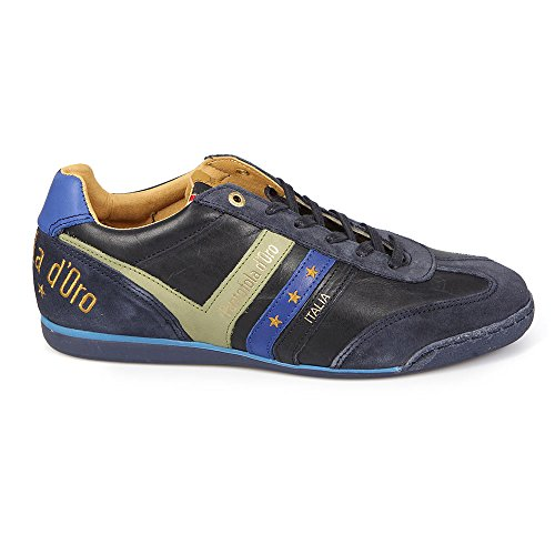Pantofola d'Oro, Sneaker uomo blu Dress Blues, blu (Dress Blues), 43