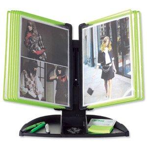 Tarifold 734335 - Atril para escritorio (con compartimentos para folios), color negro