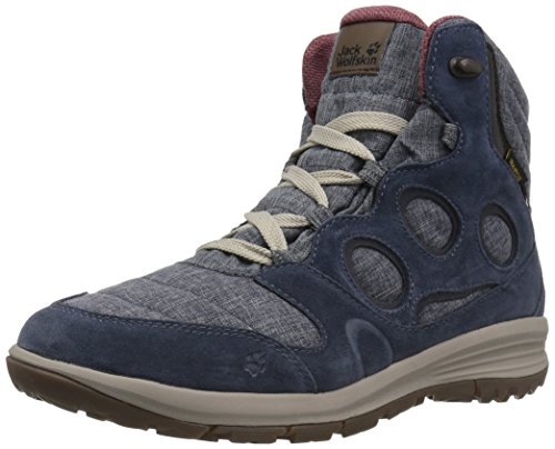 JACK WOLFSKIN Damen Winterschuhe VANCOUVER TEXAPORE MID W, night blue, 39.5, 4020641-1010060