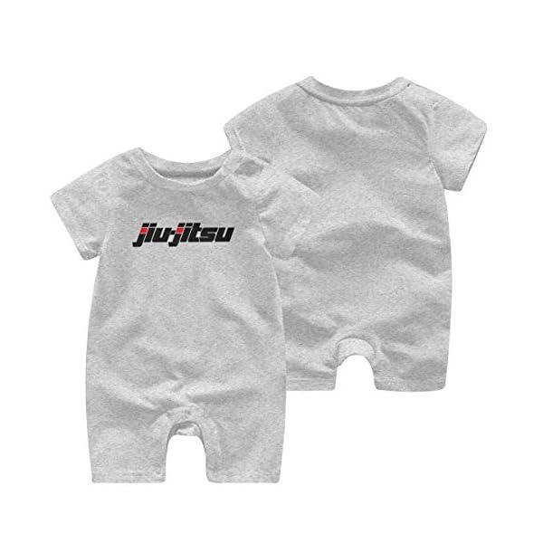 Jiu-Jitsu,Monos de algodón de Manga Corta para bebés de Manga Corta para niños 1