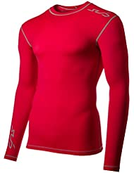Sub Sports Herren Dual Kompressionsshirt Funktionswäsche Base Layer langarm