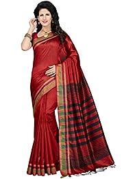 Rani Saahiba Art Tassar Silk Woven Saree