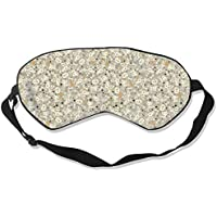 Natural Silk Eyes Mask Sleep Halloween Skull Blindfold Eyeshade with Adjustable for Travel,Nap,Meditation,Sleeping... preisvergleich bei billige-tabletten.eu