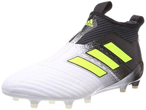online store 4a3b4 701ab adidas Ace 17+ Purecontrol FG, Zapatillas de Deporte para Hombre, Blanco  (Ftwbla
