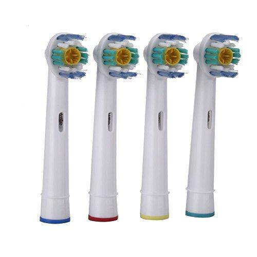 Braun Oral-b Ersatz Pinsel ((GEK®) 3D White Zahnbürstenköpfe für elektrische Zahnbürste–4zählt)