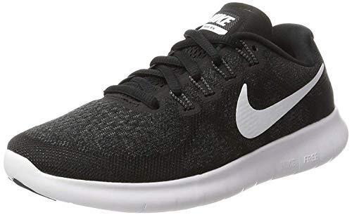 Nike Damen Free RN 2017 Laufschuhe, Schwarz (Black/White/Dark Grey/Anthracite 001), 36.5 EU