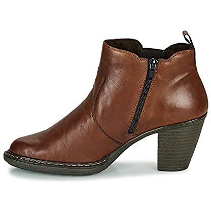 Rieker 55284-26 Ankle Boots/Boots Women Brown Ankle Boots Shoes 4