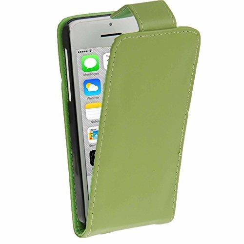 Wkae Case & Cover un étui avec carte de crédit (horaires pour iphone 5 quater ( Color : Green ) Green