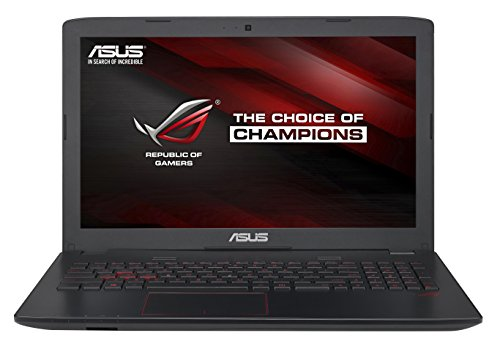Asus GL552VW-CN430T 15.6-inch Laptop (Core i7-6700 HQ/16GB/1TB/Windows 10/4GB Graphics) image