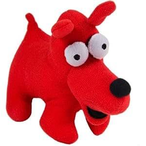 Vilac - Vilac Chien doudou Keith Haring rouge
