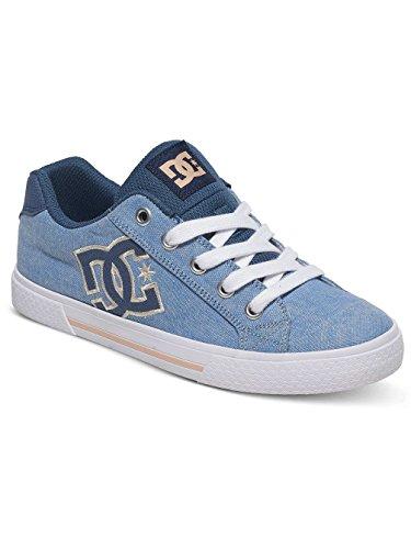 DC ShoesChelsea TX Se - Scarpe da Ginnastica Basse Donna, Blu (Bleu (Navy White)), 36.5 EU