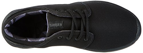 Etnies Kids Scout, chaussons d'intérieur mixte enfant Schwarz (Black/Grey/Black)