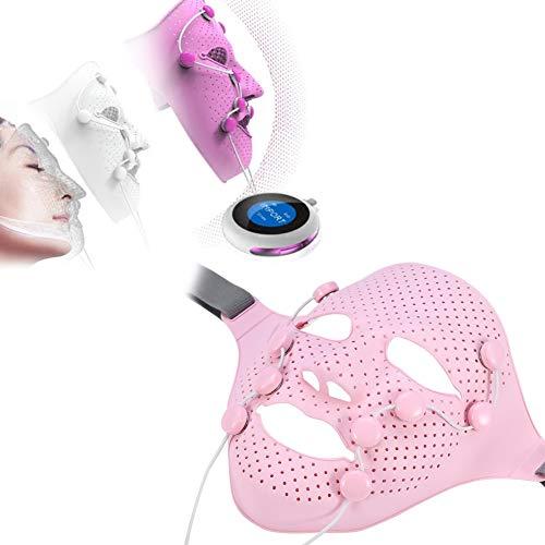 Elektrische Gesichtsmaske, Elektrische EMS Vibration Beauty Massager Anti-Falten-Magnet Massage Gesichts-SPA Gesichtsmaske - Beauty Massager