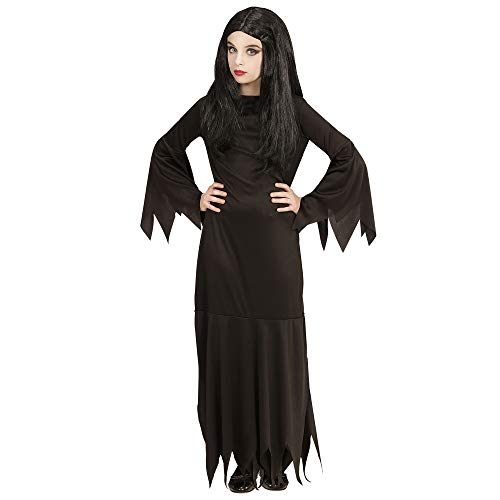 Alle Schwarz Halloween Kostüm - Widmann 07199 Kinderkostüm Mortisa, 164